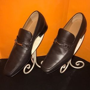 GUCCI Men's Florence Calf Leather Drk Brown Loafer
